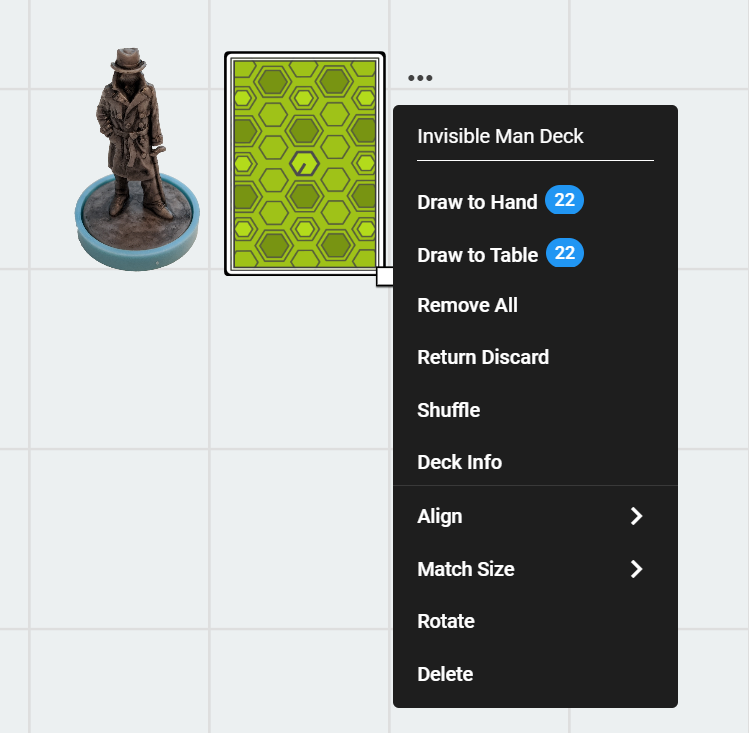 Screenshot of renaming decks